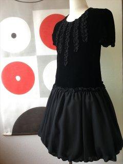 (G-140-26)ブラックドレス140cm