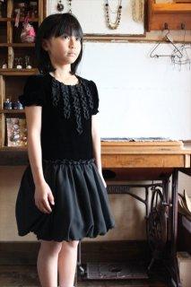 (G-130-60)ブラックドレス130cm