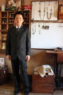 (B-150-5)爽やかなスーツ150cm