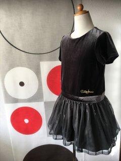 (G-130-89)シックなJENNIのドレス130cm