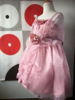 (G-130-91)シックなピンクドレス130cm