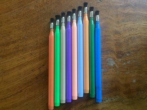 【植え替え道具】芋根を洗える筆