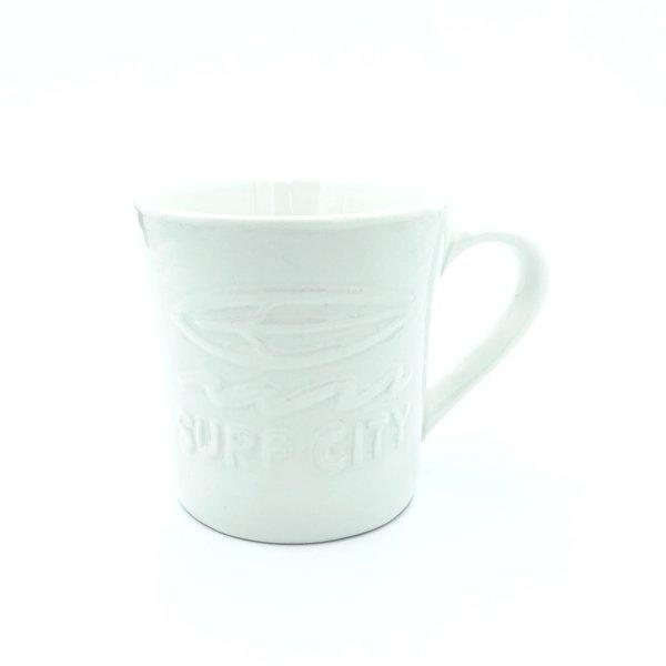 FDウェーブアロハマグ【WHITE】