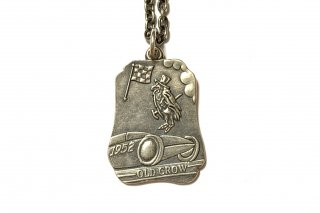 OLD CROW [-SAINT CHRISTOPHER - MEDAL- SILVER]