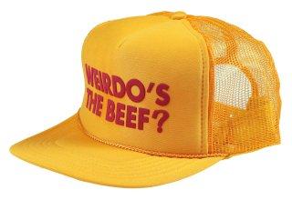 WEIRDO [-Weirdo's the Beef? - MESH CAP- YELLOW]