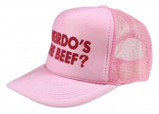 WEIRDO [-Weirdo's the Beef? - MESH CAP- PINK]
