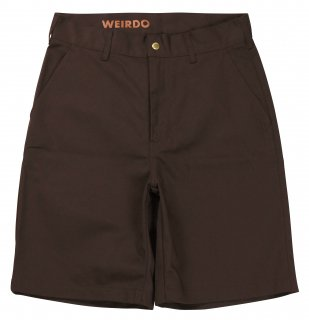 WEIRDO [-W & L UP - SHORTS- BROWN size.30,32,34,36]