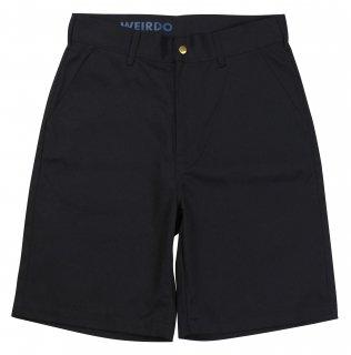 WEIRDO [-W & L UP - SHORTS- BLACK size.30,32,34,36]