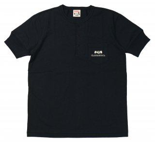 GLAD HAND & Co. [-GH DAILY - HENRY POCKET T-SHIRTS- BLACK size.S,M,L,XL]