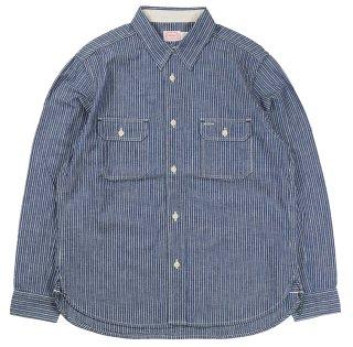 TROPHY CLOTHING [-Harvest Shirts- Stripe size.14,15,16,17,18]