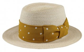 GANGSTERVILLE [-THE MIXTURE 7.19 - HAT- NATURAL×MUSTARD size.M,L]