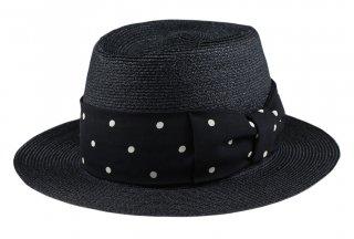 GANGSTERVILLE [-THE MIXTURE 7.19 - HAT- BLACK×BLACK  size.M,L]
