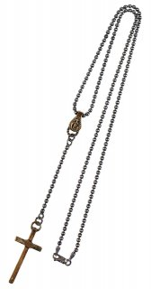 GANGSTERVILLE × GALCIA [-PENDANT - ROSARY- SILVER925×BRASS]