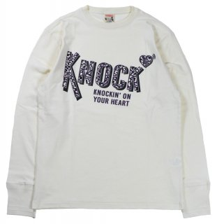 GLAD HAND [-別注 GLAD HAND × KNOCK L/S T-SHIRTS- WHITE size.S,M,L,XL]