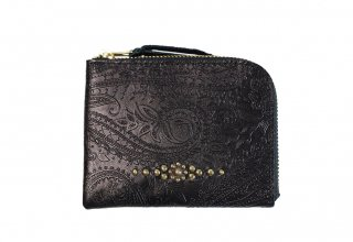 GUILTY FLAME [-GF-EZW1SP EASY WALLET (STUDS TYPE)- BLACK]