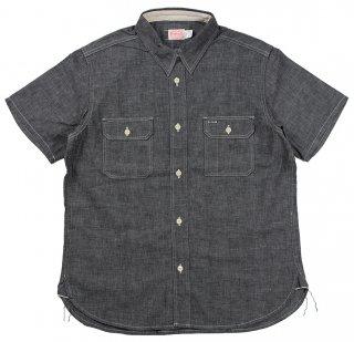 TROPHY CLOTHING [-Harvest S/S Shirt- Black size.14,15,16,17,18]
