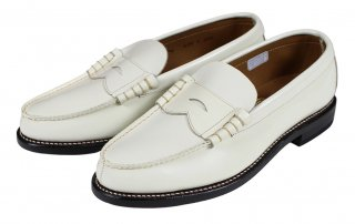 REGAL × GLAD HAND [-COIN LOAFERS SHOES - MEN'S- WHITE size.26,26.5,27,27.5,28]