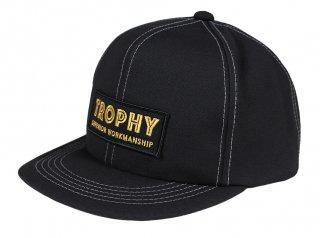 TROPHY CLOTHING [-SUPERIOR LOGO TRACKER CAP- Black]