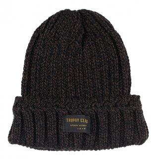 TROPHY CLOTHING [-Low Gauge Knit Cap- Brown]