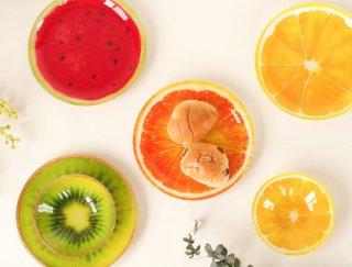 食卓をもっと楽しく!! フルーツガラスプレート