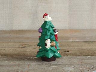 concombre クリスマスマスコット ねこねこツリー