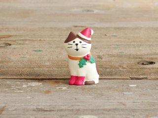 concombre クリスマスマスコット Merryにゃんこ