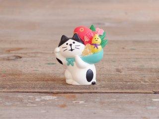 concombre FUKUMONOマスコット 縁起かつぎ招き猫