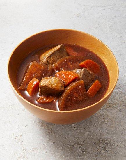 鶏肉の八丁味噌汁の画像2