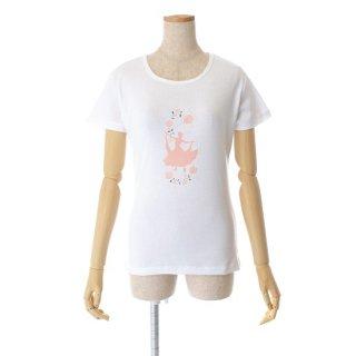 ワルツTシャツ ホワイト