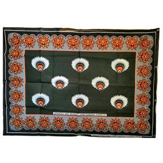 輸入商品 カンガ布 タンザニア アフリカ グリーン01