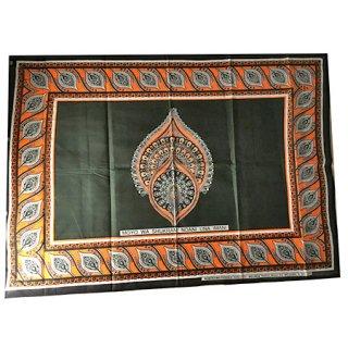 輸入商品 カンガ布 タンザニア アフリカ グリーン03