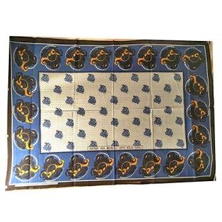 輸入商品 カンガ布 タンザニア アフリカ ホワイト17