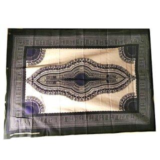 輸入商品 カンガ布 タンザニア アフリカ ホワイト26