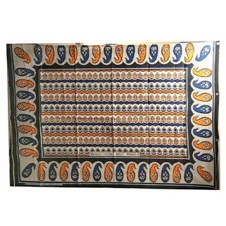 輸入商品 カンガ布 タンザニア アフリカ ホワイト27