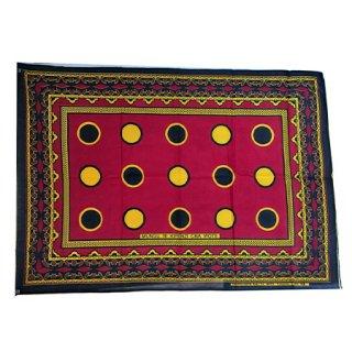 輸入商品 カンガ布 タンザニア アフリカ レッド03