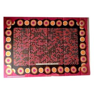 輸入商品 カンガ布 タンザニア アフリカ レッド11