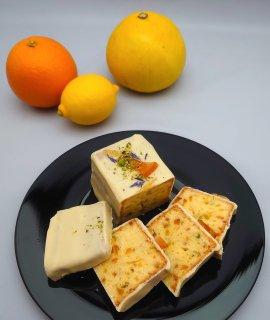 ケーク・オ・アグリュム・ショコラ(柑橘のケーキ)