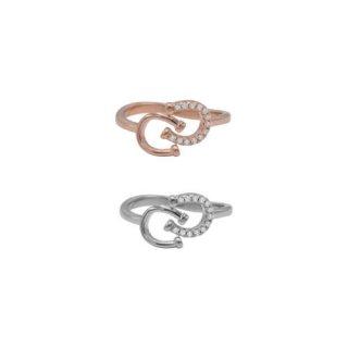 2つの蹄鉄のリング