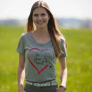IN YOUR HEARTホースTシャツ