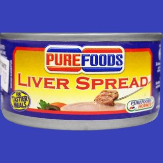 PUREFOODS LIVER SPREAD 85g