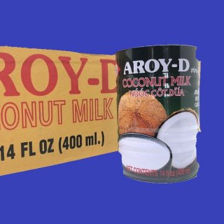 COCONUT MILK AROY-Dココナツミルク アロイ-D400ml×24 CASE