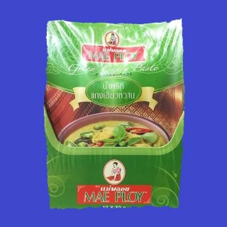 GREEN CURRY PASTE(PACK)(MAE PLOY)グリーンカレーペースト ゲーンキヨワーン メープロイ 50g×12個
