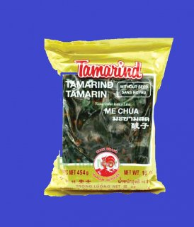 TAMARIND W/O STEM ONLY MEAT (FOR COOKING) タマリンド調理用 果肉のみ パック 30x400g CASE