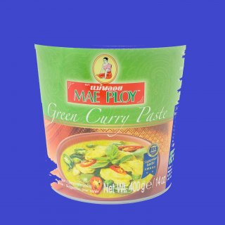 GREEN CURRY PASTE (CUP) (MAE PLOY)グリーンカレーペースト メープロイ24x 400g CASE