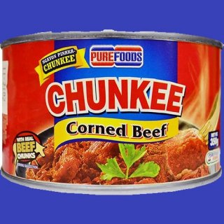 PUREFOODS CHUNKEE CORNED BEEF (L) 24X350g CASE