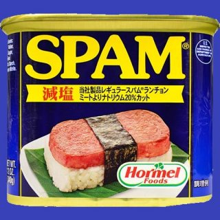 HORMEL SPAM LOW SODIUM 20% 24X340g CASE