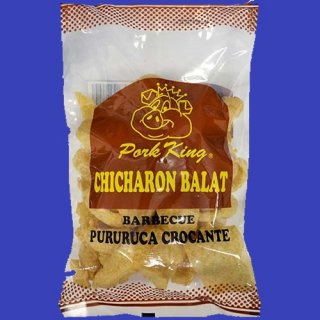 PORK KING CHICHARON BARBECUE 24X60g CASE
