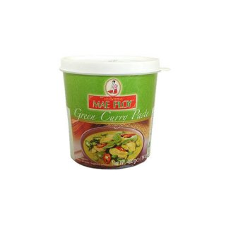 GREEN CURRY PASTE (CUP) (MAE PLOY)グリーンカレーペースト メープロイ400g