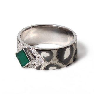 Albina Ring SV925 [Emerald]