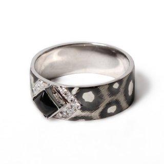 Albina Ring SV925 [BlackStar Sapphire]